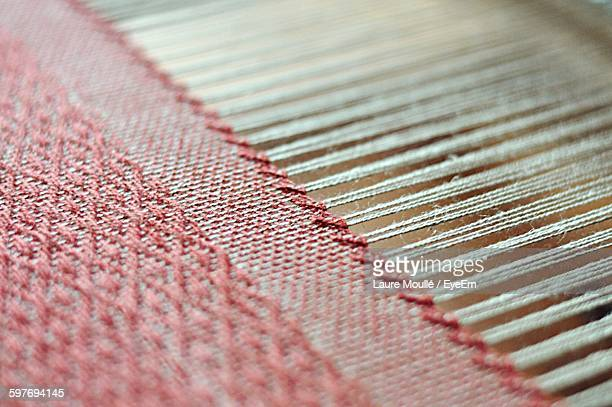 close-up of threads - woven stock pictures, royalty-free photos & images