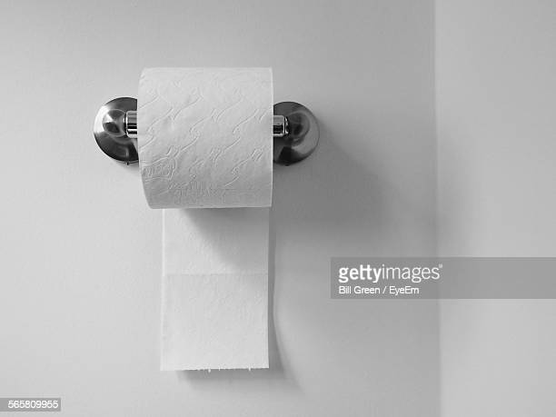 close-up of toilet paper roll - toilet paper stock pictures, royalty-free photos & images