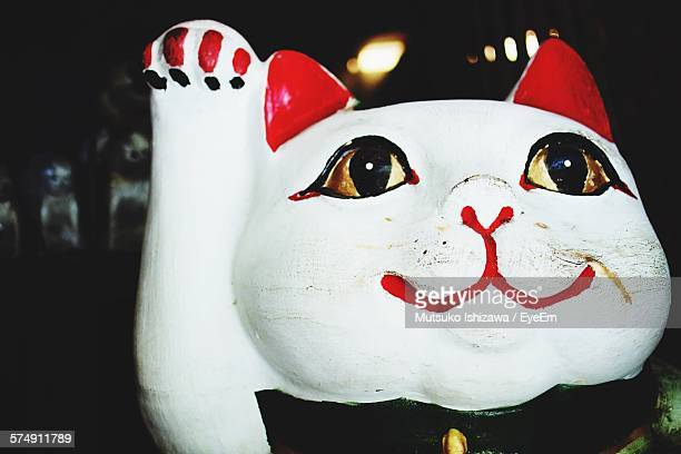 Close-Up Of Toy Cat