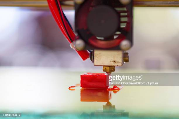 close-up of toy in container - 3d printing stock pictures, royalty-free photos & images