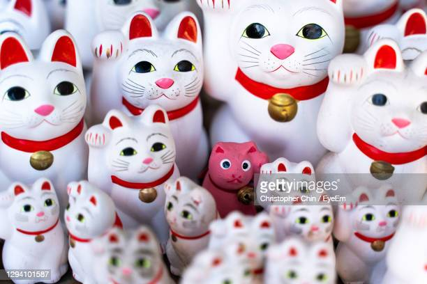 close-up of toys for sale in market - chinese culture stock pictures, royalty-free photos & images