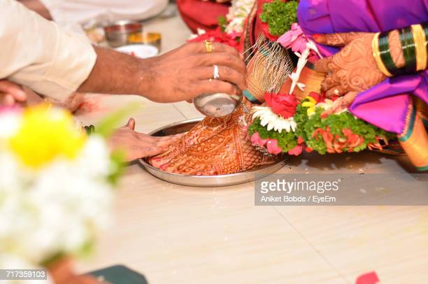 Close-Up Of Traditional Ceremony