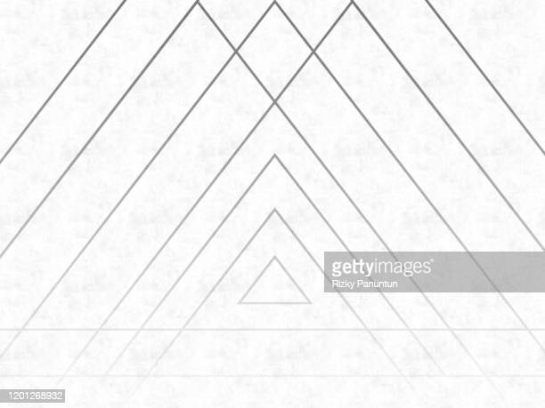 close-up of triangle shape on white background - chip shot stock pictures, royalty-free photos & images