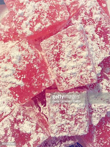Close-Up Of Turkish Delight
