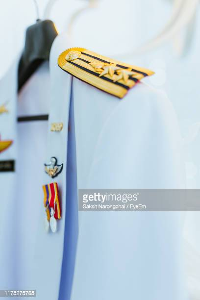 close-up of uniform - military uniform stock pictures, royalty-free photos & images