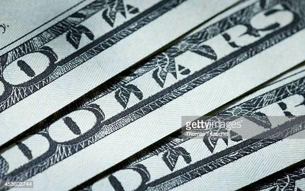 Closeup of US Dollars on August 06 in Berlin Germany
