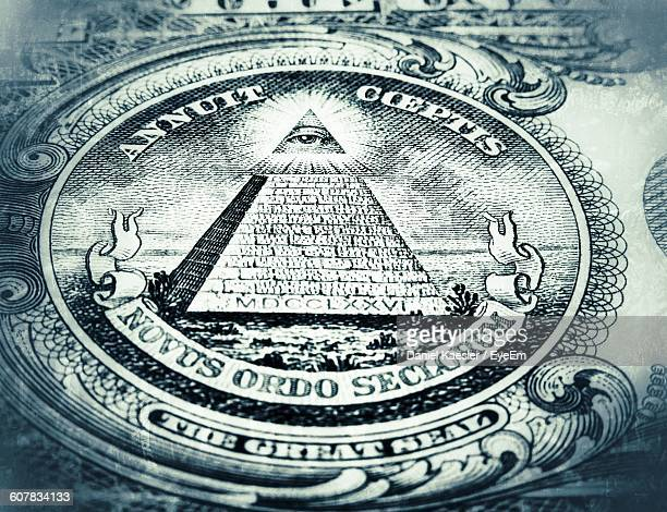 Close-Up Of Us Paper Currency