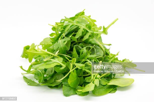 Close-Up Of Vegetable Over White Background
