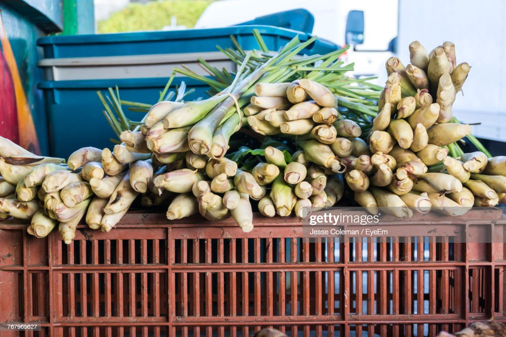 Close-Up Of Vegetables For Sale In Market : Stock Photo