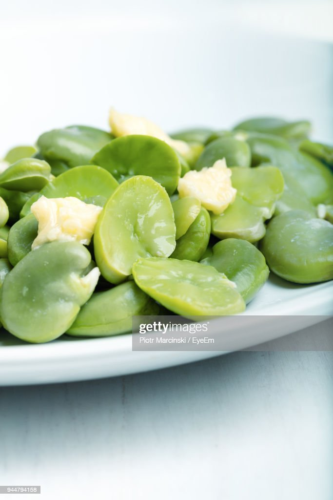 Close-Up Of Vegetables In Plate : Stock Photo