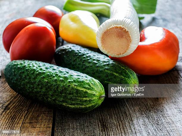 close-up of vegetables on table - igor golovniov stock pictures, royalty-free photos & images