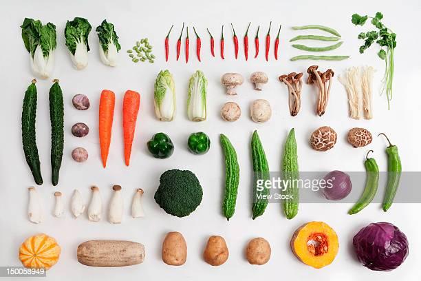 close-up of vegetables - 白梗菜 ストックフォトと画像