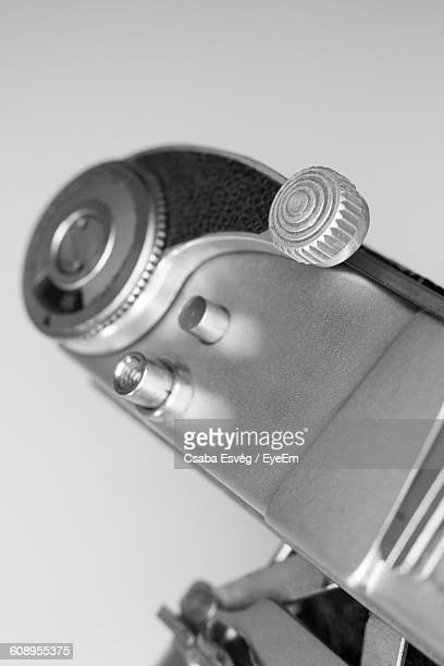 Close-Up Of Vintage Camera
