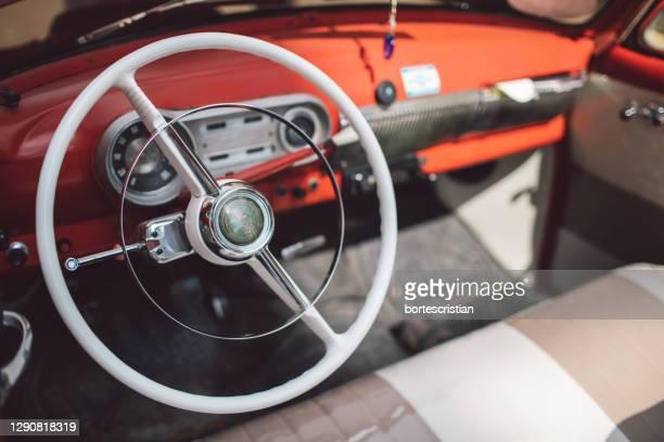 close-up of vintage car - bortes bildbanksfoton och bilder