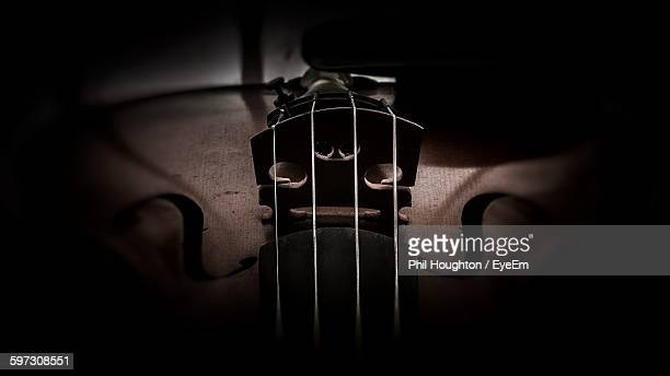 close-up of violin - string instrument stock photos and pictures