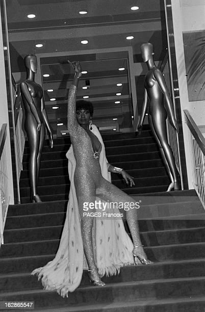 CloseUp Of Vivian Reed France Paris 29 septembre 1978 l'actrice danseuse et chanteuse américaine Vivian REED est la vedette de la revue 'Harlem...