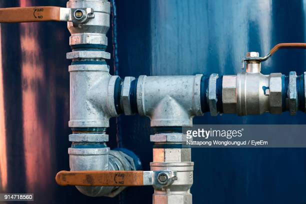 Close-Up Of Water Pipe