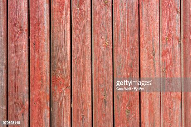 Close-Up Of Weathered Wooden Fence