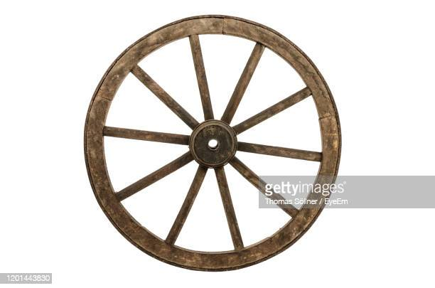close-up of wheel against white background - wheel stock pictures, royalty-free photos & images