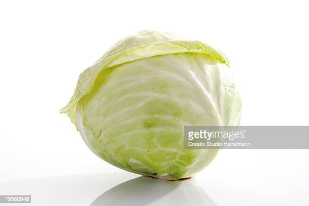 close-up of white cabbage - cabbage stock pictures, royalty-free photos & images