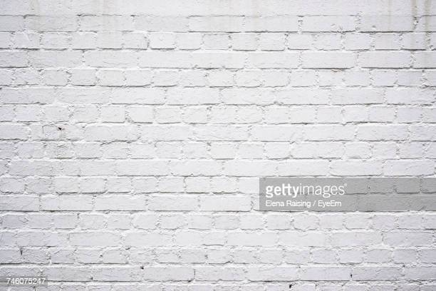 close-up of white wall - brick wall stock pictures, royalty-free photos & images