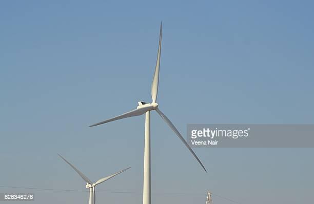 Close-up of Wind turbine blades-Gujarat