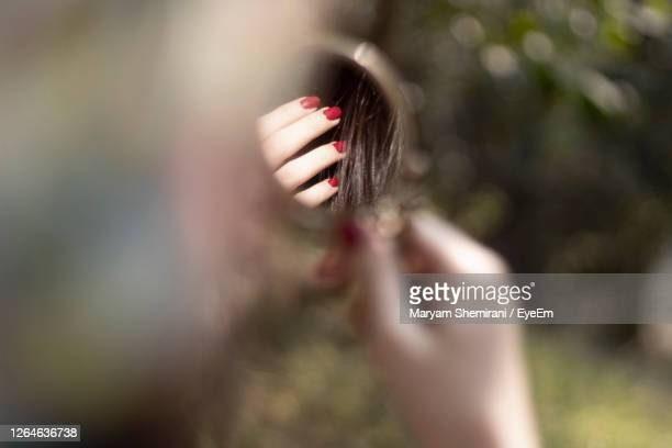 close-up of woman hand holding plant - iran stock pictures, royalty-free photos & images