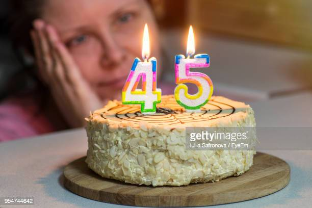 Marvelous 40 Year Old Birthday Cakes Stock Pictures Royalty Free Photos Personalised Birthday Cards Petedlily Jamesorg