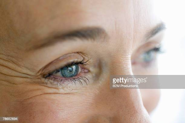 close-up of woman - human body part stock pictures, royalty-free photos & images