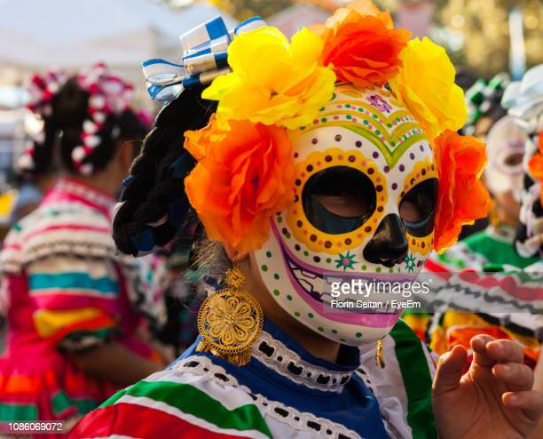 close-up of woman wearing mask - florin seitan stock pictures, royalty-free photos & images