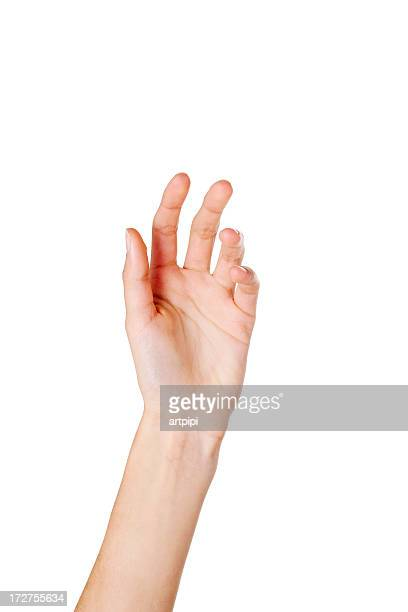 close-up of woman's hand - reaching stock pictures, royalty-free photos & images