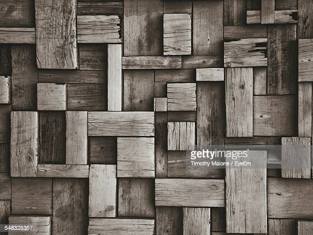 Close-Up Of Wooden Blocks