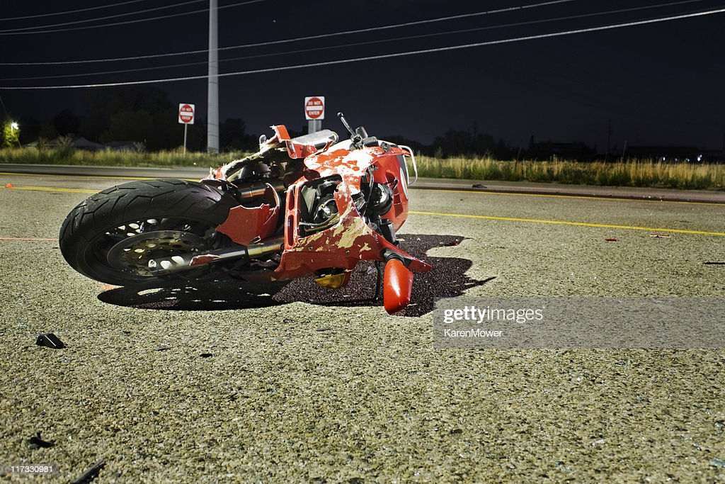 Rosso moto : Foto stock