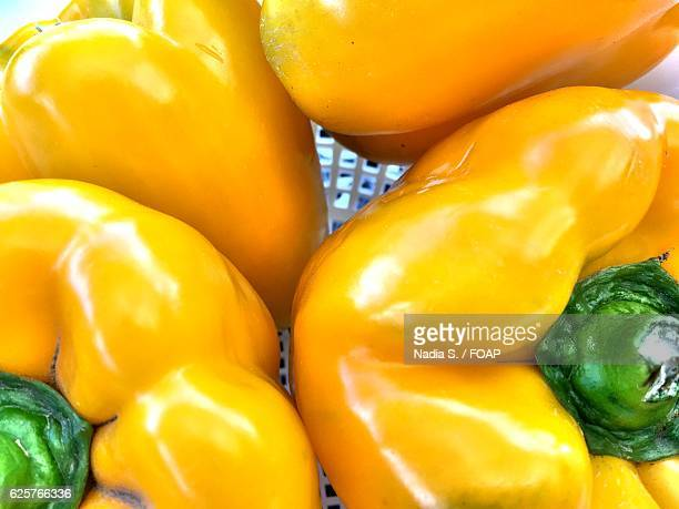 Close-up of yellow bell pepper