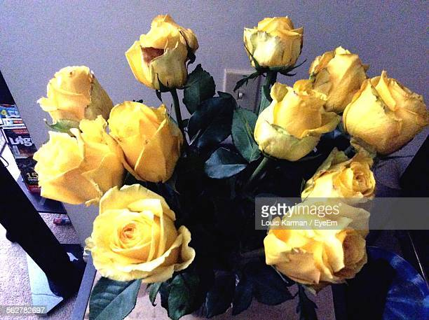 Close-Up Of Yellow Roses