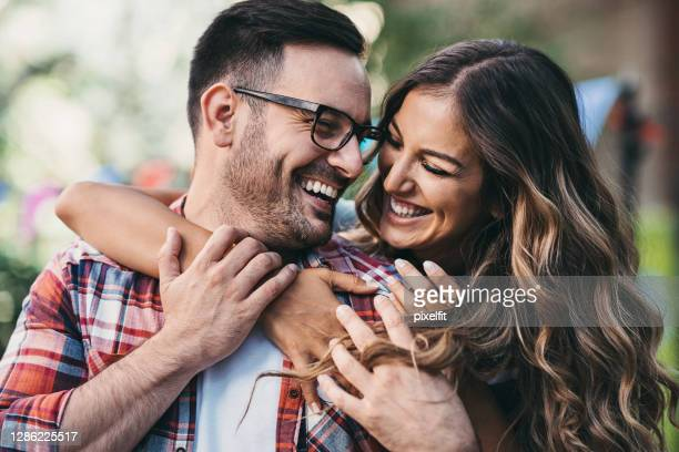 close-up of young couple in love - bulgaria stock pictures, royalty-free photos & images