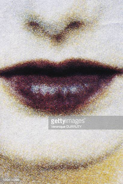 Closeup on a mouth Buzz catalog