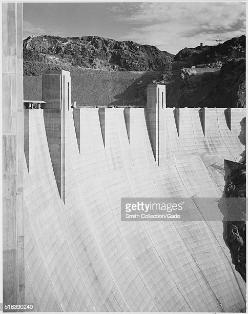 CloseUp Photograph of Boulder Dam Ansel Adams Photographs of National Parks and Monuments Image courtesy National Archives 1941