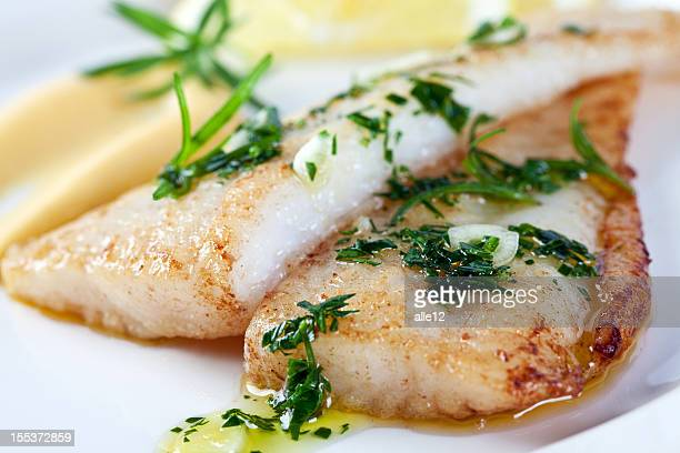 closeup photograph of white fish - fillet stock pictures, royalty-free photos & images