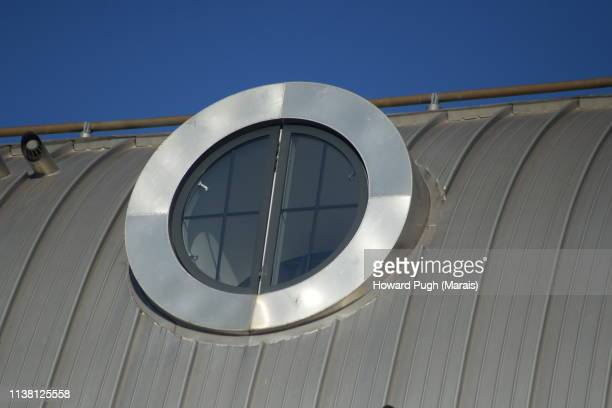 Close-up Porthole Window Nautical Building