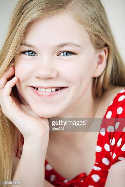 Cute 13 Year Old Girls Stock Photos And Pictures