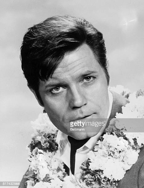 Closeup portrait of actor Jack Lord