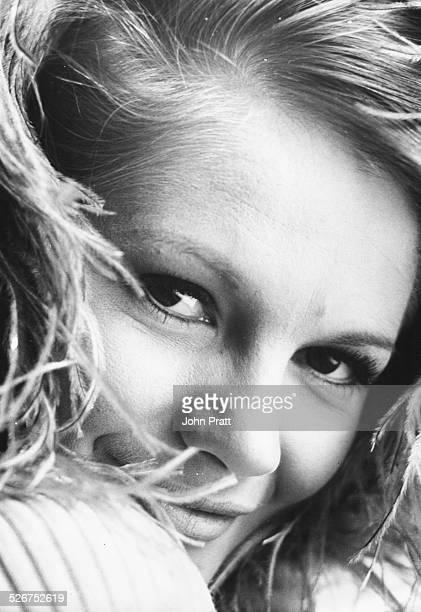 Closeup portrait of actress Anna Palk circa 1965