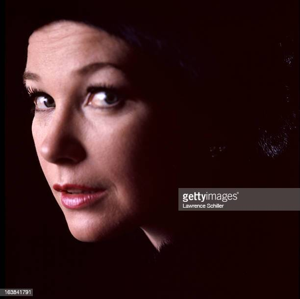 Closeup portrait of American actress Shirley MacLaine Los Angeles California 1969