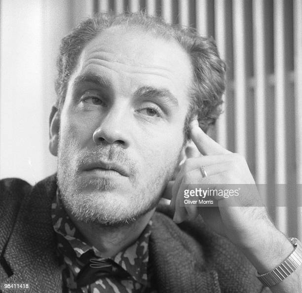 Closeup portrait of American film and stage actor John Malkovich New York New York 1984