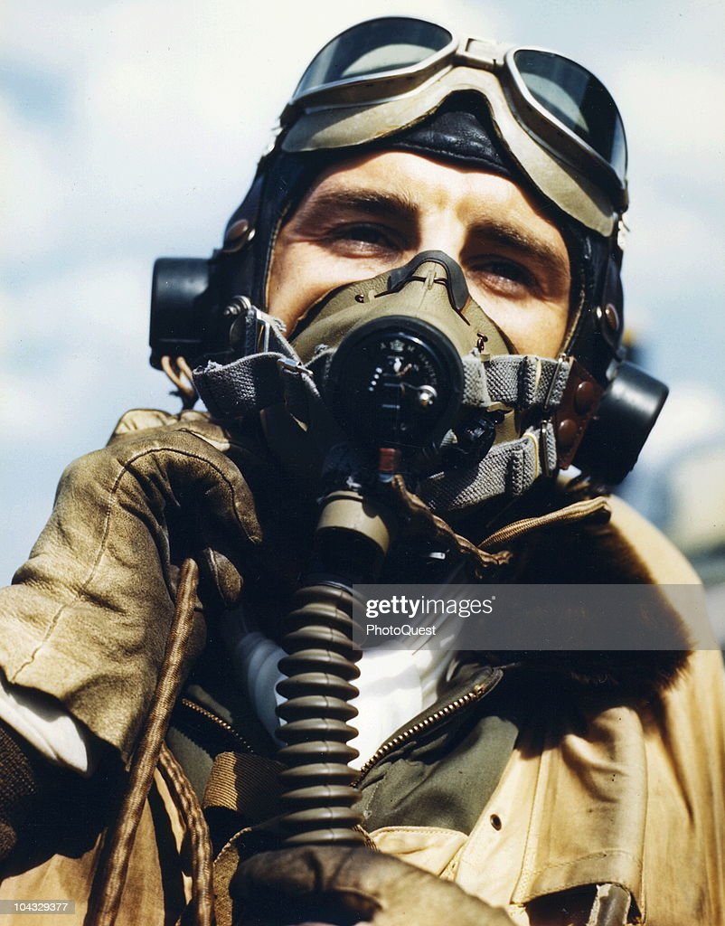 Portrait Of Fighter Ace Gabreski : News Photo