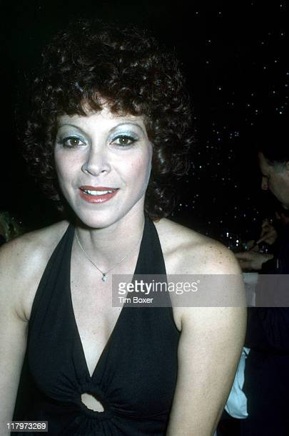 Closeup portrait of Argentinian exotic dancer Fanne Foxe as she attends a performance of the cabaret show 'Pouff' at La Vie En Rose New York New York...