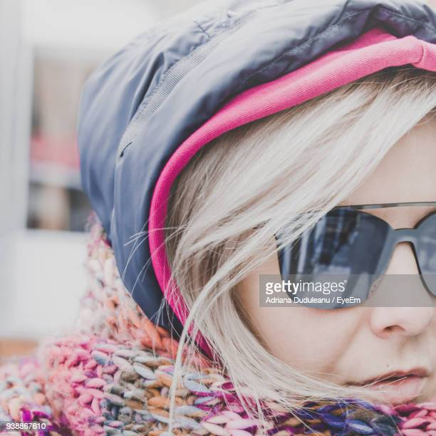 close-up portrait of beautiful mid adult woman - adriana duduleanu stock photos and pictures