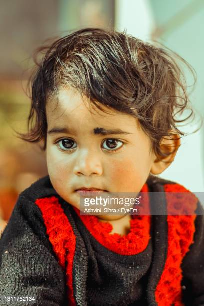 close-up portrait of cute little boy - disappointment stock pictures, royalty-free photos & images