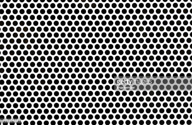 closeup steel mesh, background with copy space